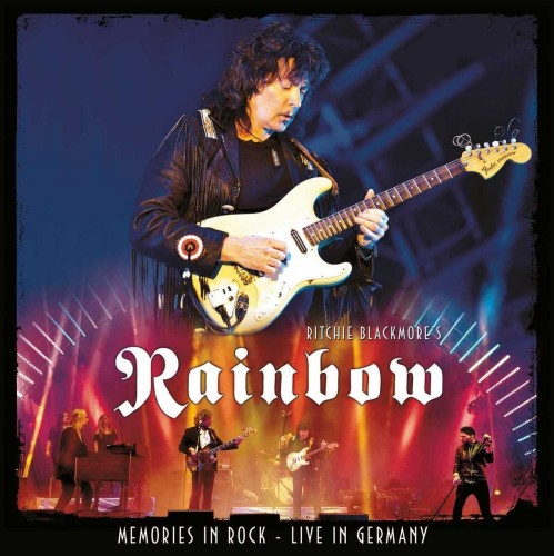 Ritchie Blackmore's Rainbow - Memories In Rock. Live In Germany (2016, DVD9)