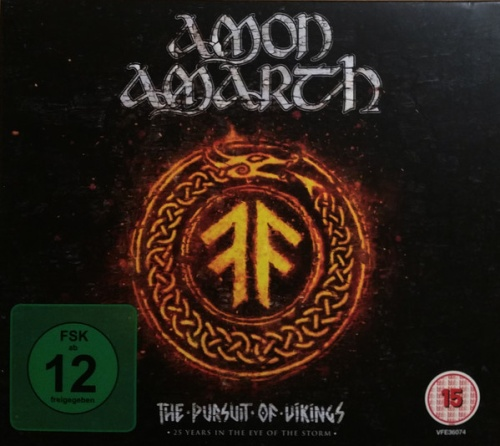 Amon Amarth - The Pursuit Of Vikings: 25 Years In The Eye Of The Storm (2018, Blu-ray)