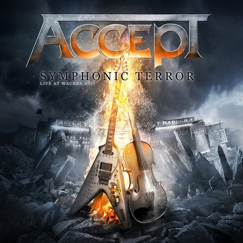 Accept - Symphonic Terror: Live at Wacken 2017 (2018, Blu-ray)