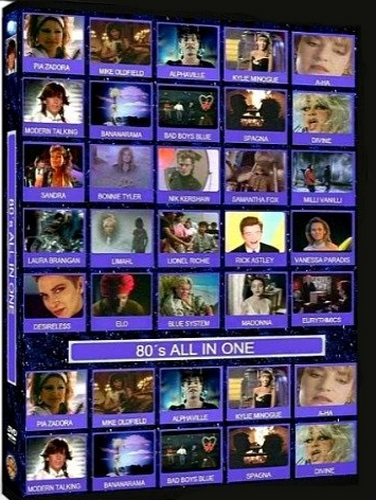80s Hits All In One Volume 1-7 (2004-2011, 7xDVD9)