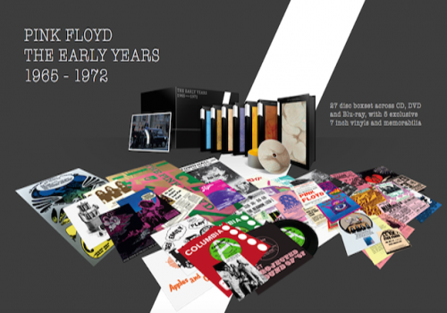 Pink Floyd - The Early Years 1965-1972 (2016, 8xDVD9, DVD5)