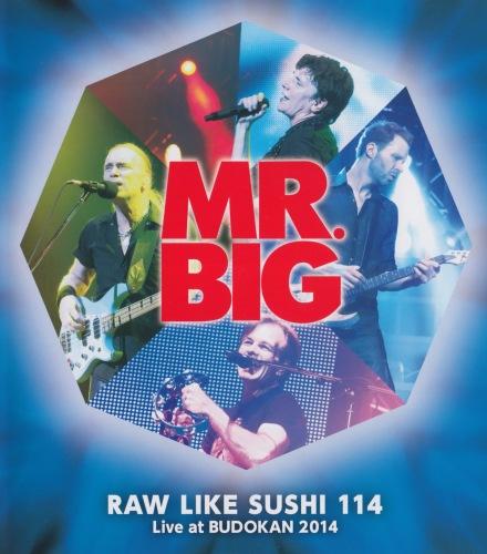 Mr. Big - Raw Like Sushi 114 (2015, Blu-ray)