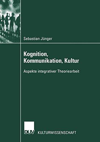 Sebastian Jünger - Kognition- Kommunikation- Kultur