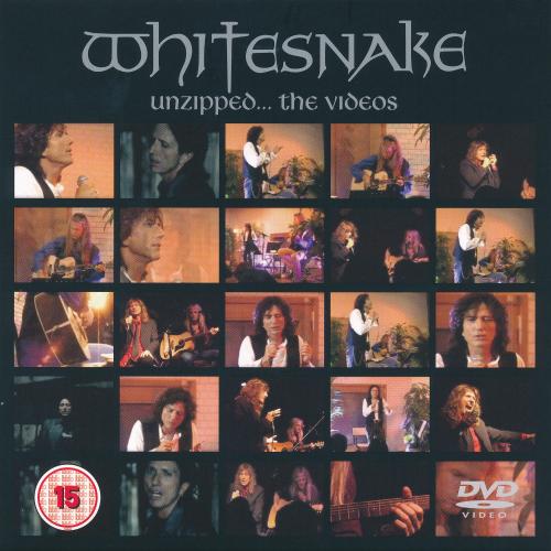 Whitesnake - Unzipped    The Videos (2018, DVD9)