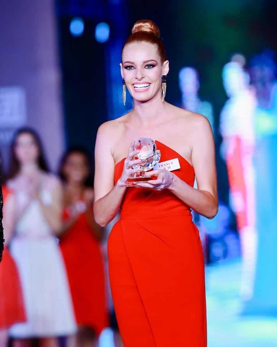 miss world 2018: fast track top model. vencedora: miss france. F3l8ja3p