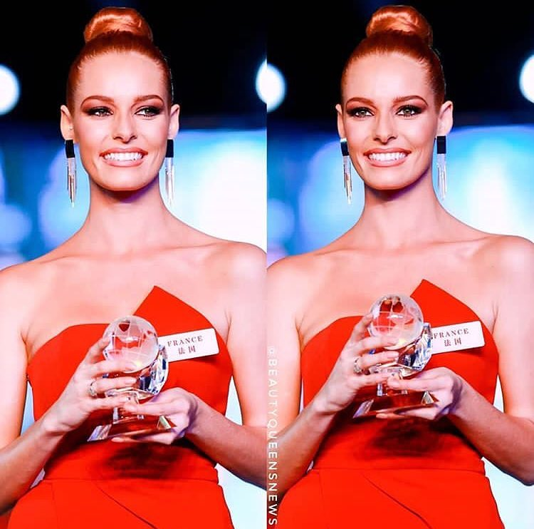 miss world 2018: fast track top model. vencedora: miss france. Gychrnxu