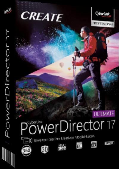 CyberLink PowerDirector Ultimate v17.0.2419.0 (x64)