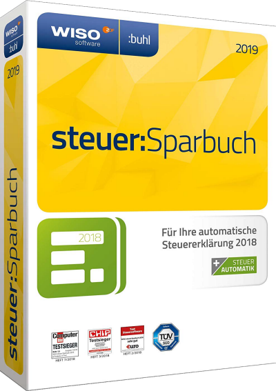WISO Steuer Sparbuch 2019 v26.10 Build 2054