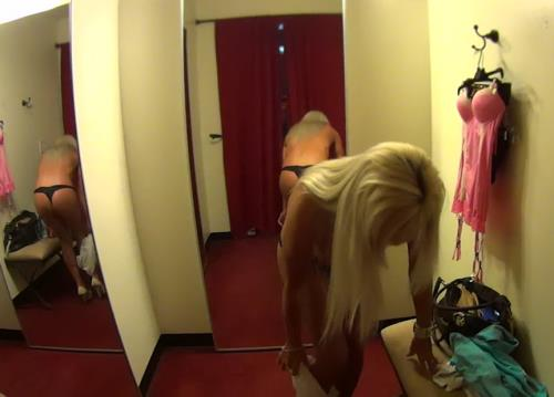 Heather - Stripper MILF fitting room (HD)
