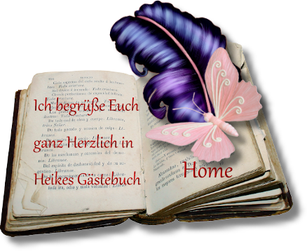 Gästebuch Banner - verlinkt mit https://heikes-naturschoenheiten.com