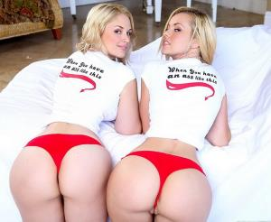 Jessie Rogers, Sarah Vandella - Double take (2018/SD)