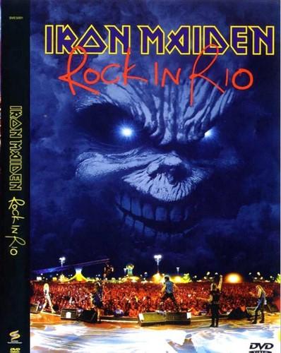 Iron Maiden - Rock In Rio 2002 (2018, DVD9)