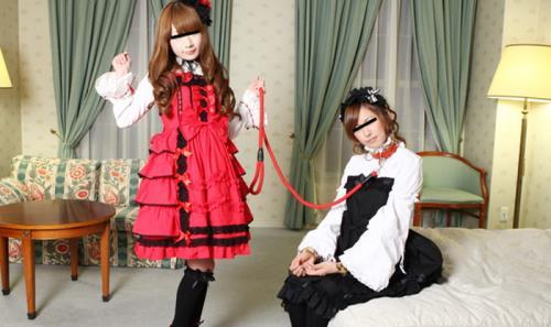 Mina, Yuka - Gothic Lolita Girls' Journey Through the Ruins (HD)