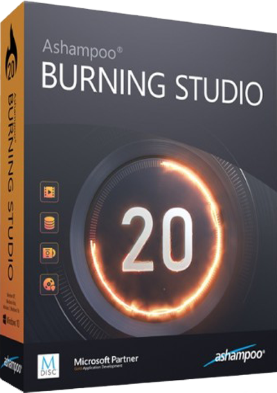 Ashampoo Burning Studio v20.0.4.1 + Portable