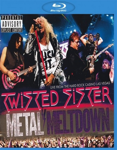Twisted Sister - Metal Meltdown (2016, BDRip, 1080p)