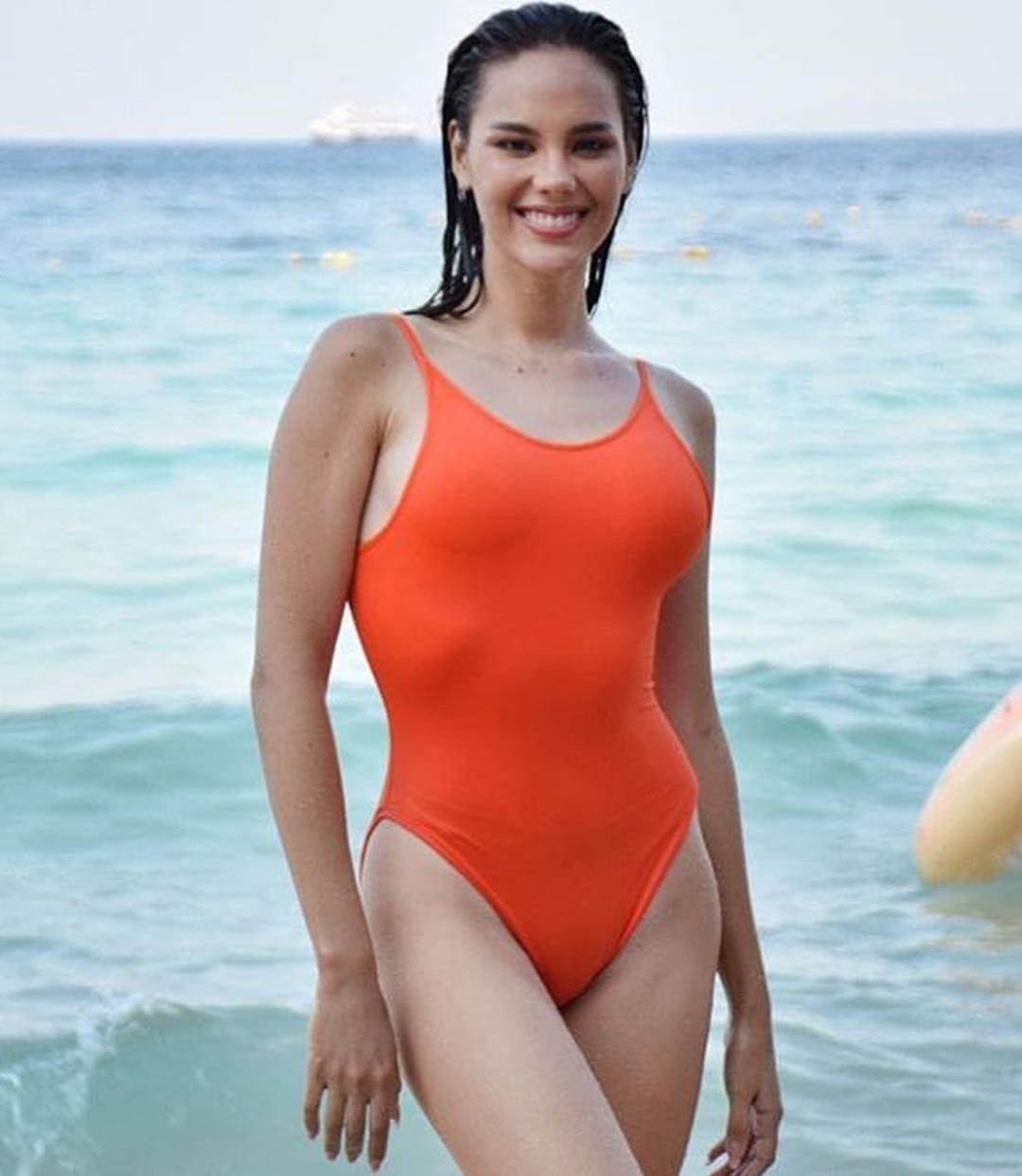 miss universe philippines 2018 de traje de bano. 266gnfmz