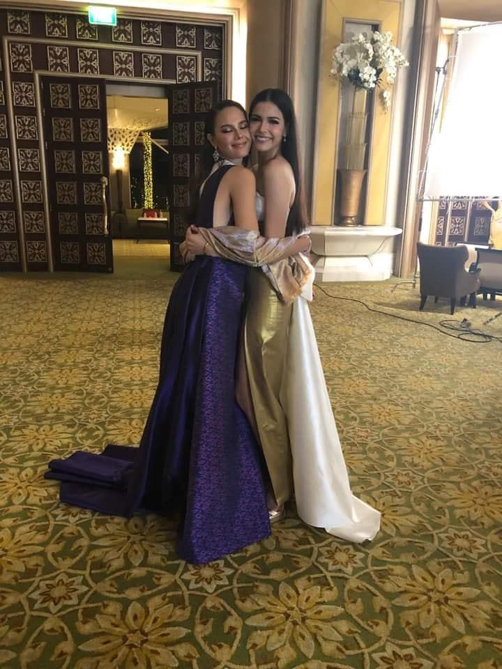 thai night gala dinner de candidatas a miss universe 2018. - Página 11 Whti4dih