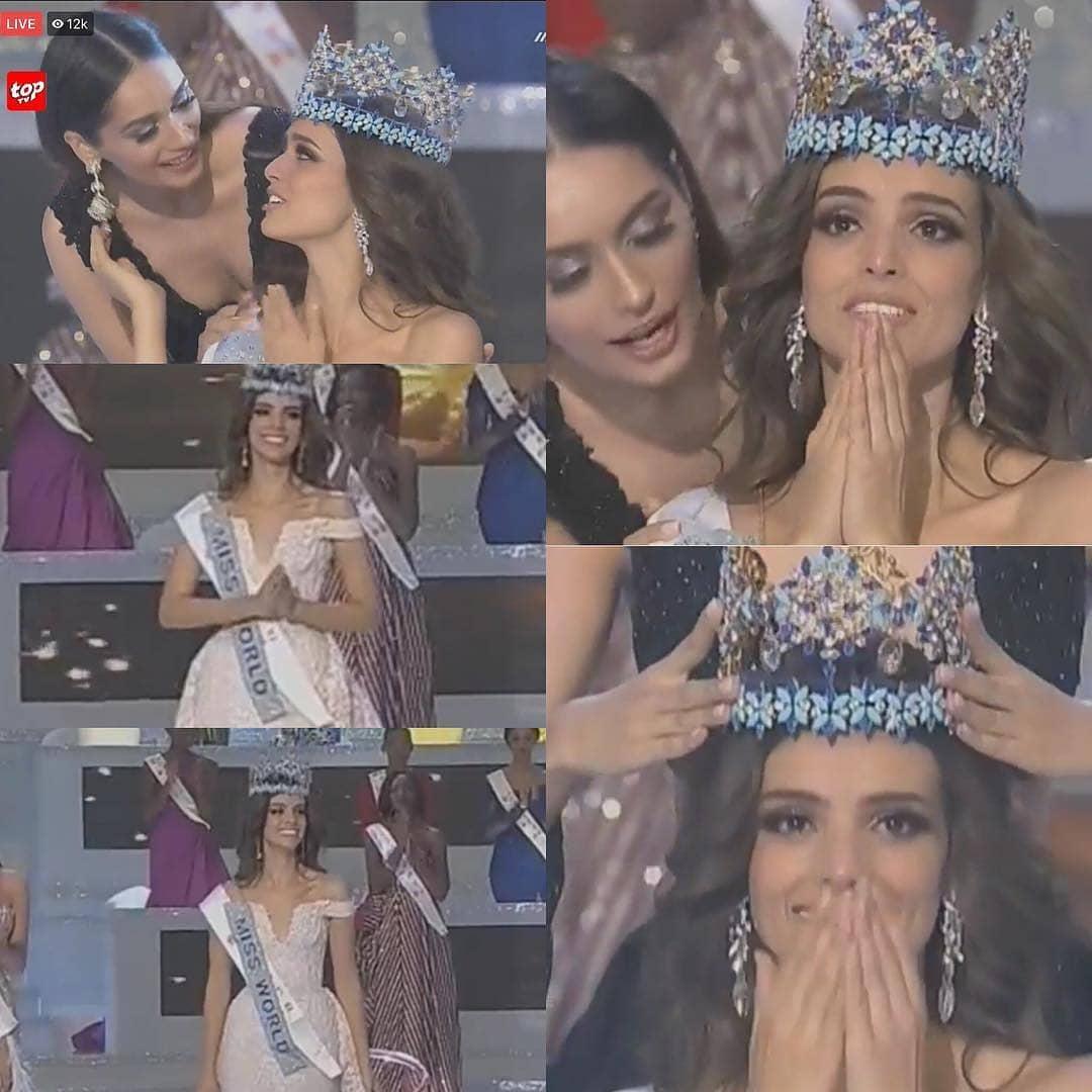 wooooowww otra latina: mexico vence miss world 2018. 3wwdi8dz