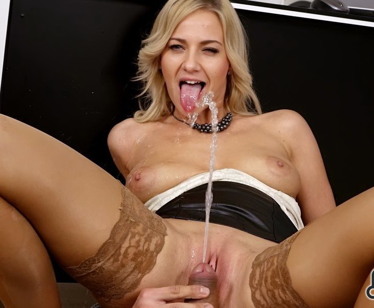 PissingInAction.com - Nathaly Cherie - Couple Loves Pissing Hardcore Style [SD 540p]