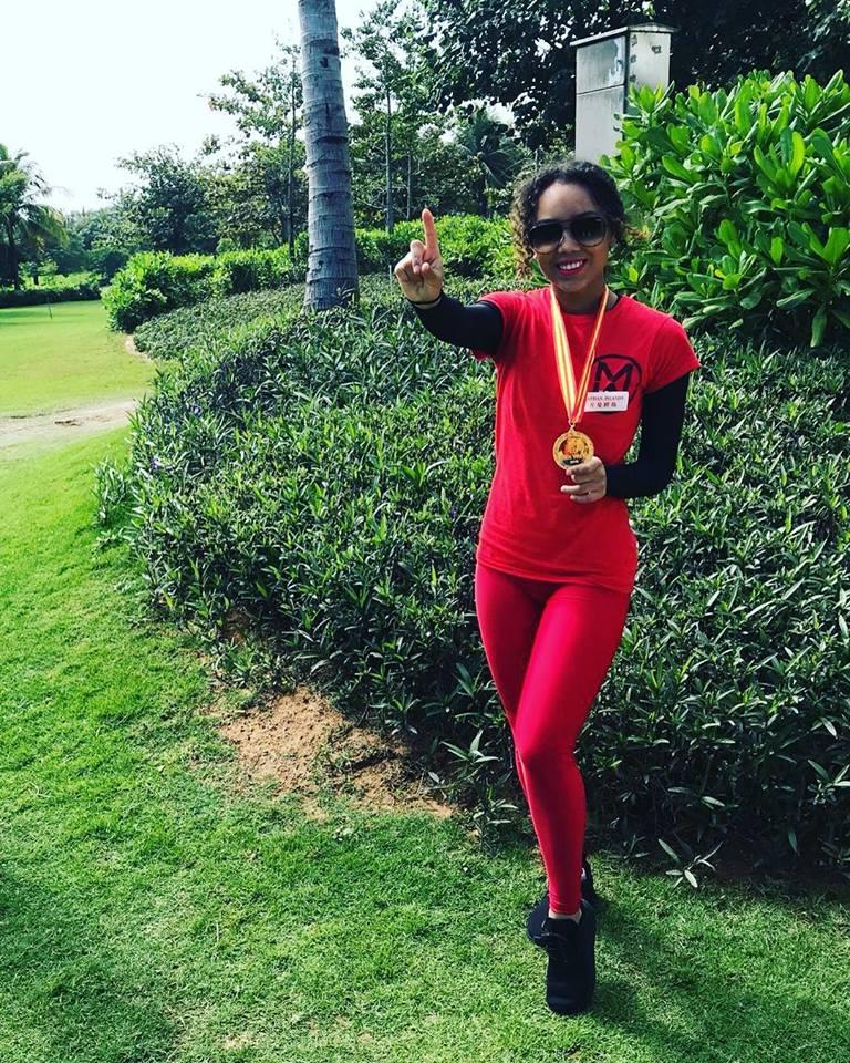 miss usa vence fast track miss sports. esta classificada para final de miss world 2018. Hji9x33u