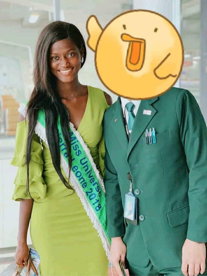 finalmente, miss sierra leone em thailand (mas no esta participando de miss universe 2018). Tlfx4ahj