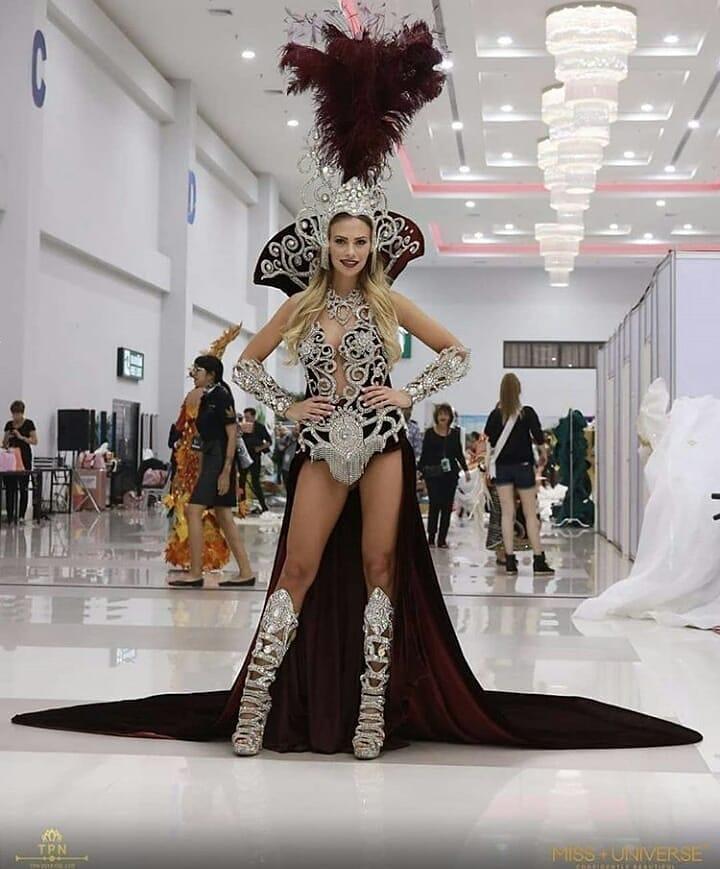 trajes tipicos de candidatas a miss universe 2018. - Página 5 Gioagurl