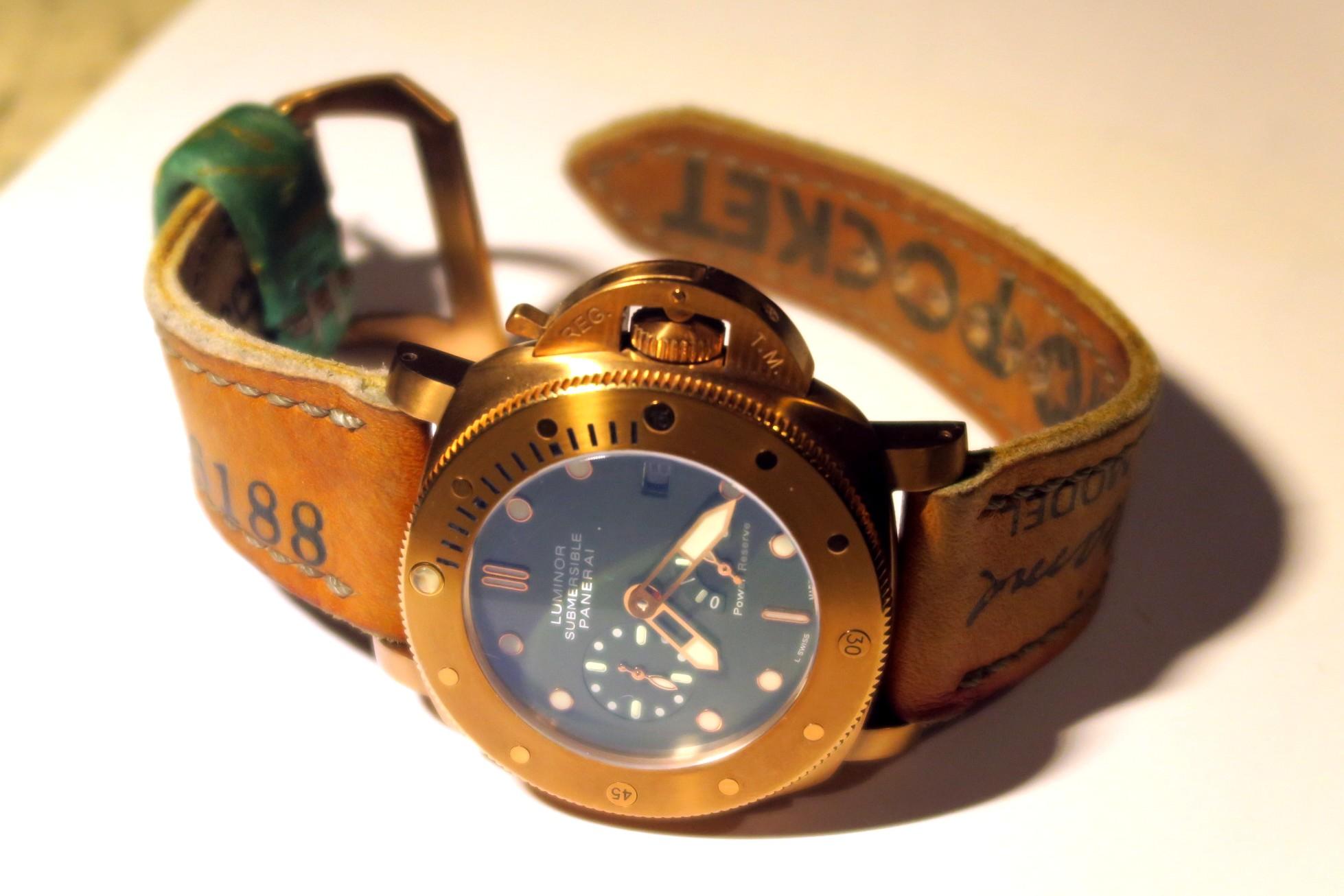 Μεταβολές πατίνας σε Panerai Bronzo και άλλα χάλκινα ρολόγια - Ρολόγια Replica