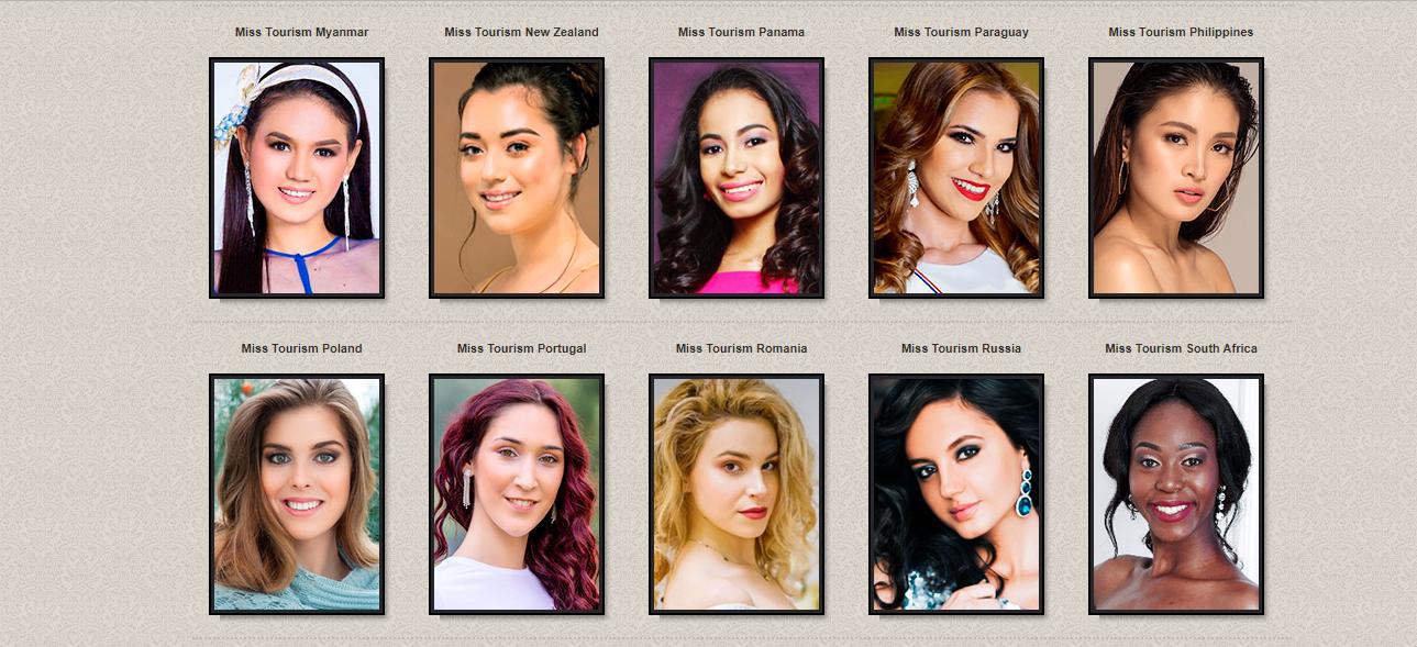 candidatas a miss tourism international 2018. final: 21 dec. sede: malaysia. (ultimo concurso de 2018). Bnpdp4yy