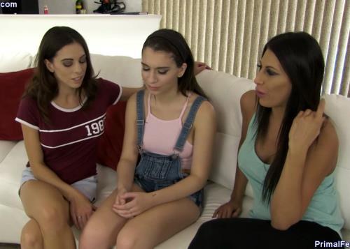 Makayla Cox, Eva Long, Joseline Kelly - Joseline's Training day (HD)