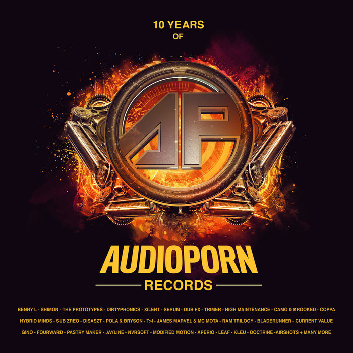 10 Years of Audioporn Records LP (2018)
