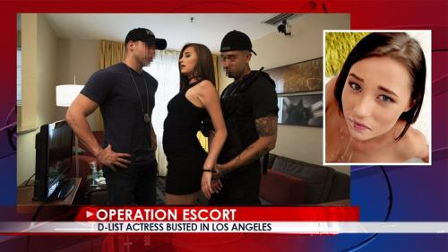 Carolina Sweets - D-List Actress Busted In Los Angeles (SD)