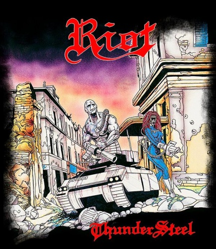 Riot - Thunder Steel (30th Anniversary Edition) (2018, DVD9)
