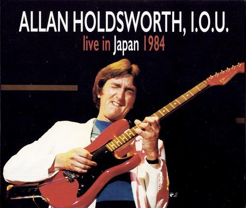 Allan Holdsworth, I.O.U. - Live in Japan 1984 (2018, DVD5)