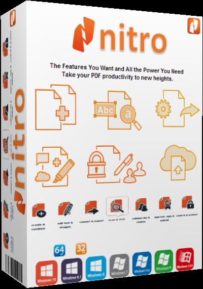 Nitro PDF Pro v13.2.6.26 (x86-x64) + Portable