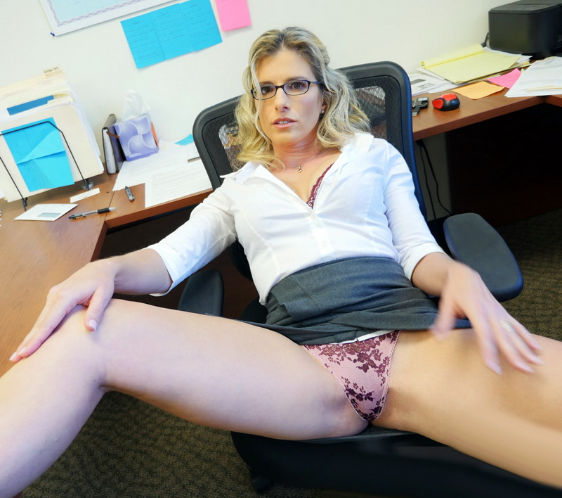 SpyFam.com - Cory Chase - Step-Son Sexually Harassed By Step-Mom At Work [SD 360p]