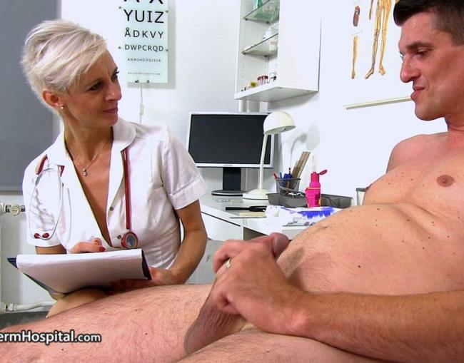 Zita M-CFNM sex at sperm bank clinic with Czech MILF Zita [HD 720p] Spermhospital.com [2018/1.12 GB]