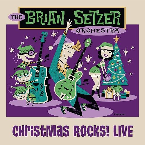 The Brian Setzer Orchestra - Christmas Rocks (2018, UHDTV, 2160p)