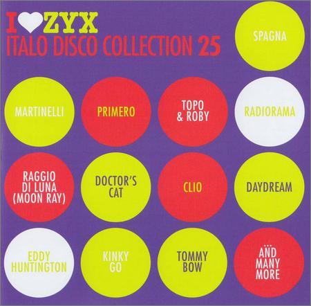 VA - I Love ZYX Italo Collection vol.25 (2018)