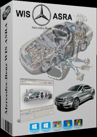 Mercedes-Benz WIS ASRA 01-02-03-04-2019