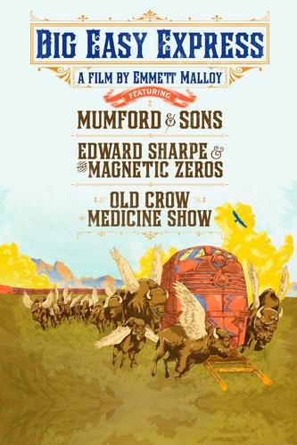 Mumford & Sons, Edward Sharpe - Big Easy Express (2012, DVD5)