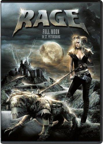 Rage - Full Moon In St. Petersburg 2007 (2018, DVD9)
