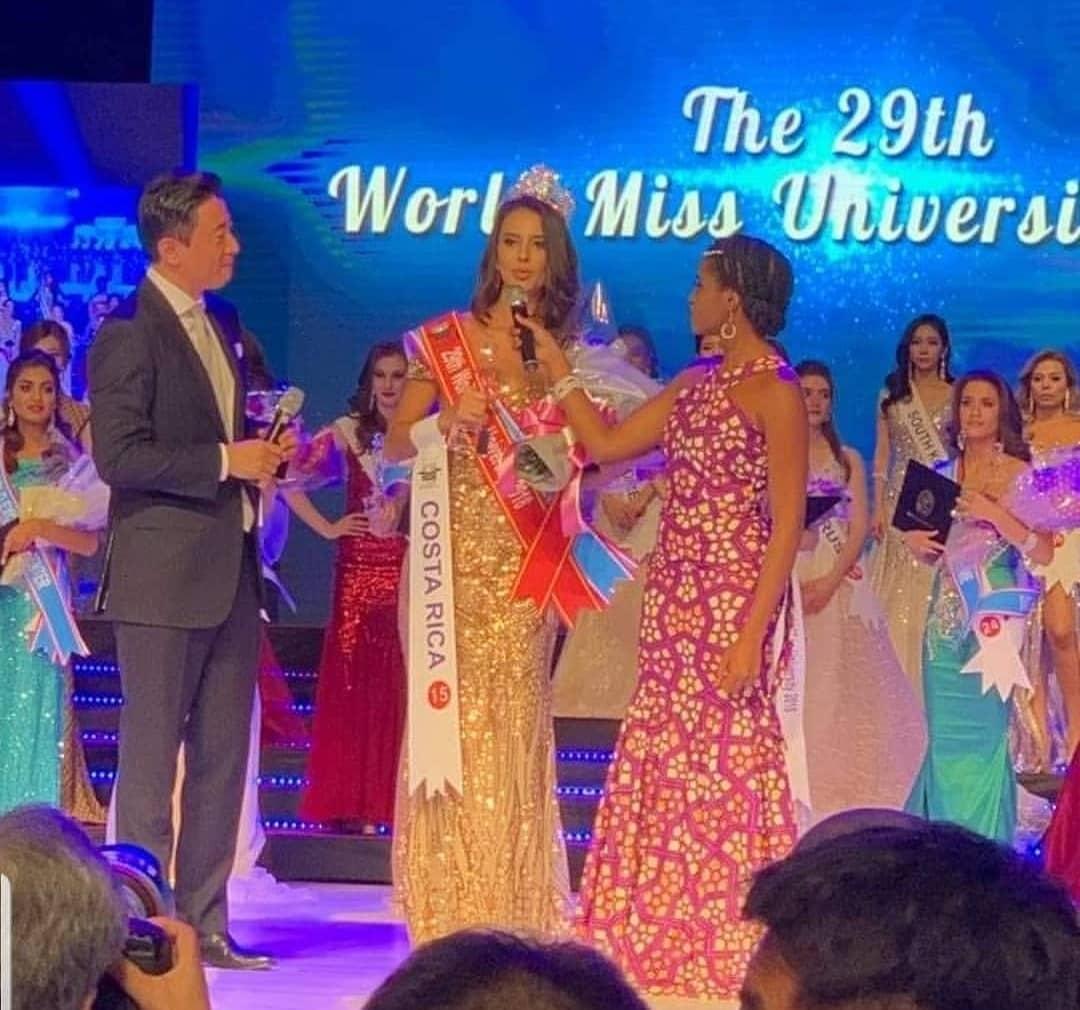 costa rica vence world miss university 2018.  Leqfig5e