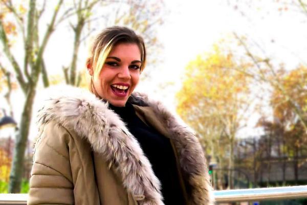 Clementine Marceau - Ines, 18ans, fait monter la temperature ! (FullHD)