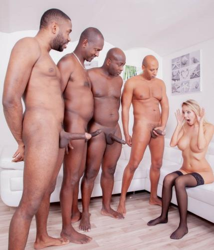 Florane Russell - Four Black Studs For Blonde Nympho (SD)