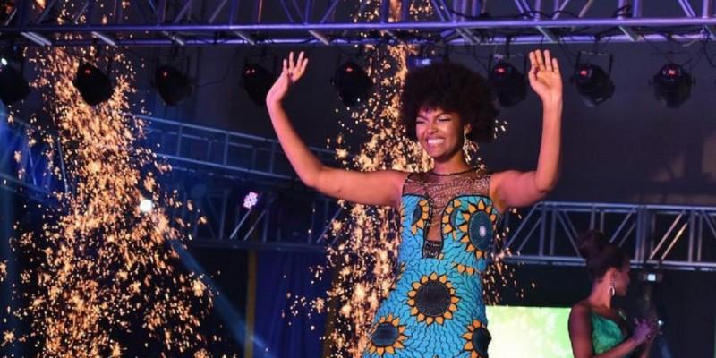 Miss Congo gana el certamen Miss Africa 2018 pero acto seguido su cabello se enciende en llamas Xw98fx92