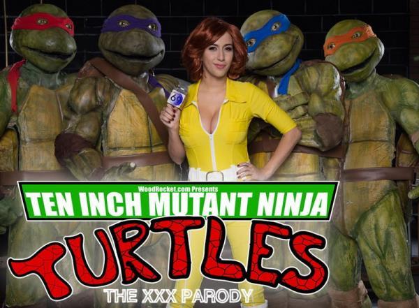 April ONeil - Ten Inch Mutant Ninja Turtles The XXX Parody (HD)