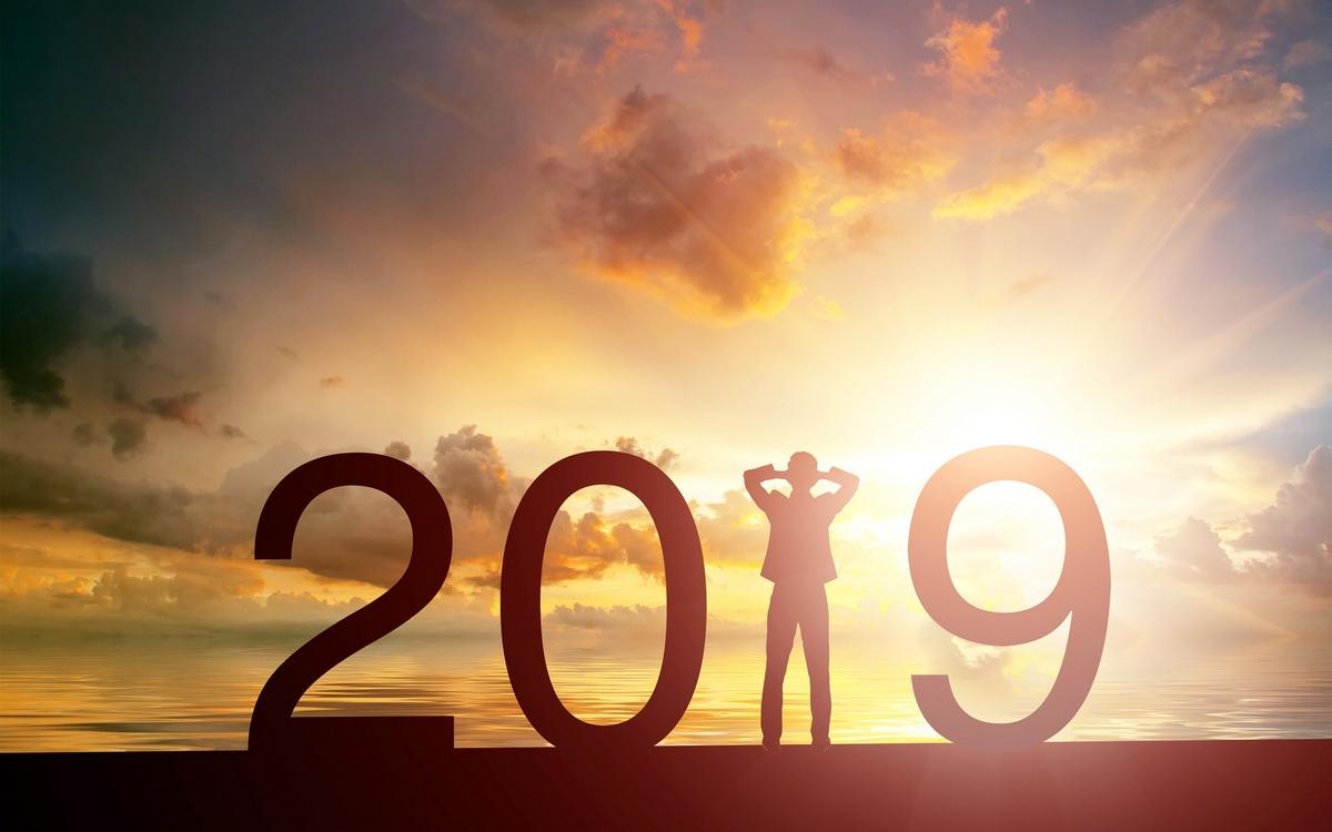 2019 Jpg Arka Plan Gün Batımı Manzaralar- 2019 Yazılı Resimler