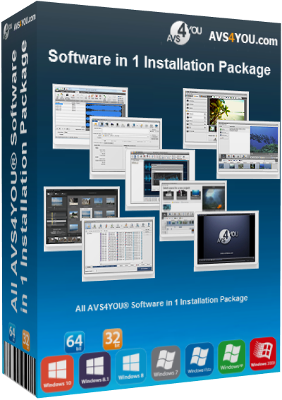 All AVS4YOU Software in 1 Installation Package v4.2.1.153