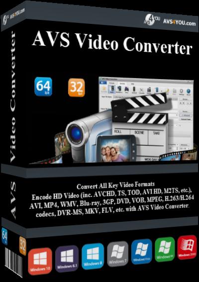 AVS Video Converter v11.0.1.632 + Portable
