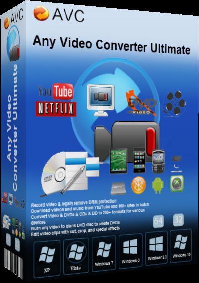 AVC Any Video Converter Ultimate v6.3.4 + Portable